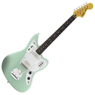 Vintage Modified Jaguar Guitar, Surf Green