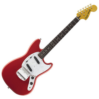 Fender Vintage Modified Mustang Guitar, Fiesta Red