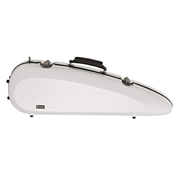 Sinfonica Rocket Violin Case, White