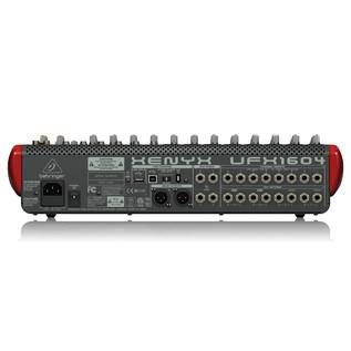 Behringer Xenyx UFX1604 Premium 16-Input Mixer, Rear