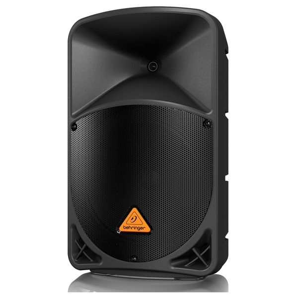 "Behringer Eurolive B112MP3 Active 1000W 12"" PA Speaker w/ MP3 Player, Front Angled Left"