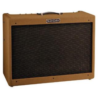 Fender Special Run Blues Deluxe 112 Valve Guitar Amp, Smokey Tweed