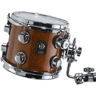 Natal Maple Fusion X Shell Pack & Snare, Orange Sparkle