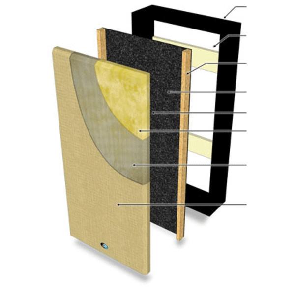 Primacoustics Max Trap, Grey - diagram