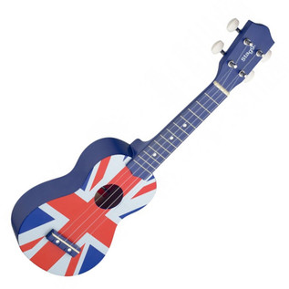 Stagg Soprano Ukulele & Bag, Union Jack