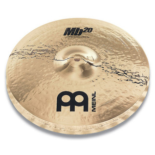 Meinl MB20-14HSW-B 14 inch Heavy Soundwave Hi-Hats - Brilliant