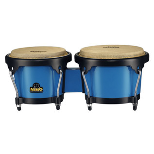 Meinl NINO17B-BK ABS Bongo Plus, Blue