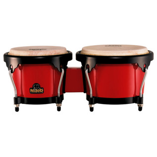 Meinl NINO17R-BK ABS Bongo Plus, Red
