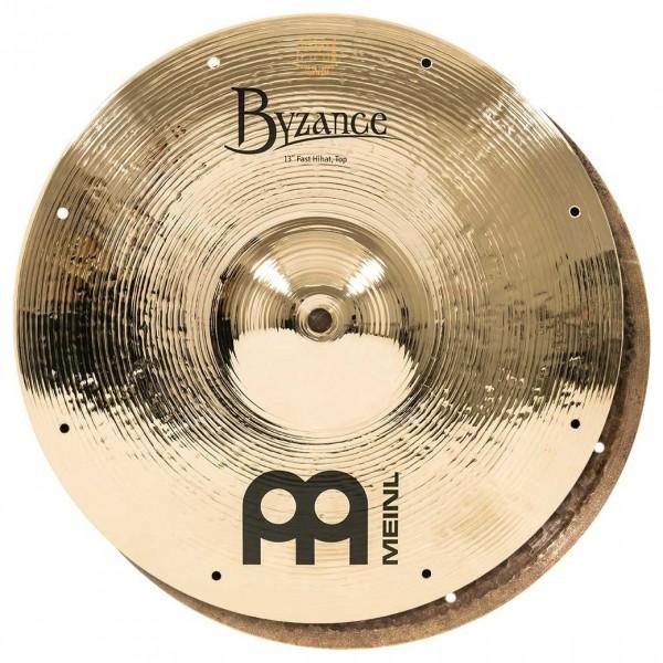 """Meinl B13FH Byzance 13"""" Brilliant Fast Hi-Hats"""