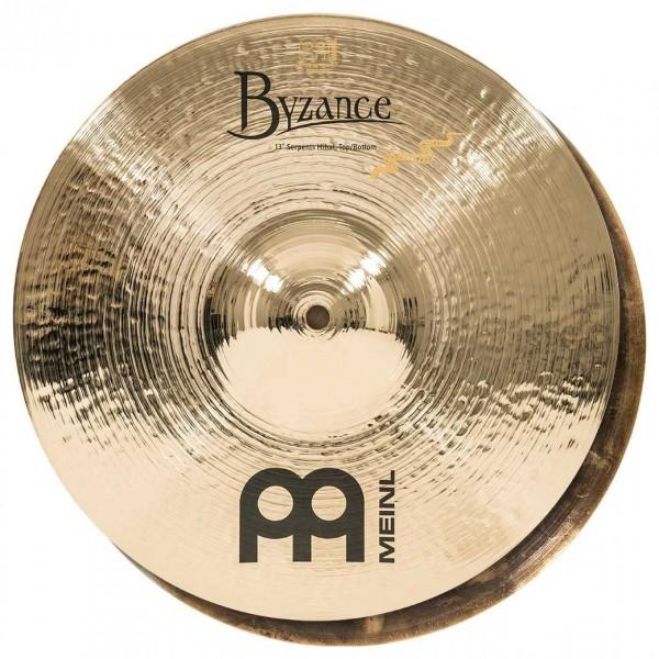 Meinl B13SH-B Byzance 13 inch Brilliant Serpents Hi-hat