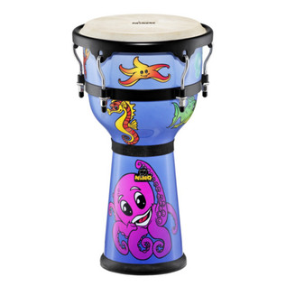 Meinl NINO23DS Designer Series Djembe, Deep Sea Finish