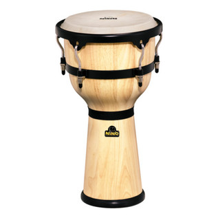 Meinl NINO23NT Wood Djembe, Natural