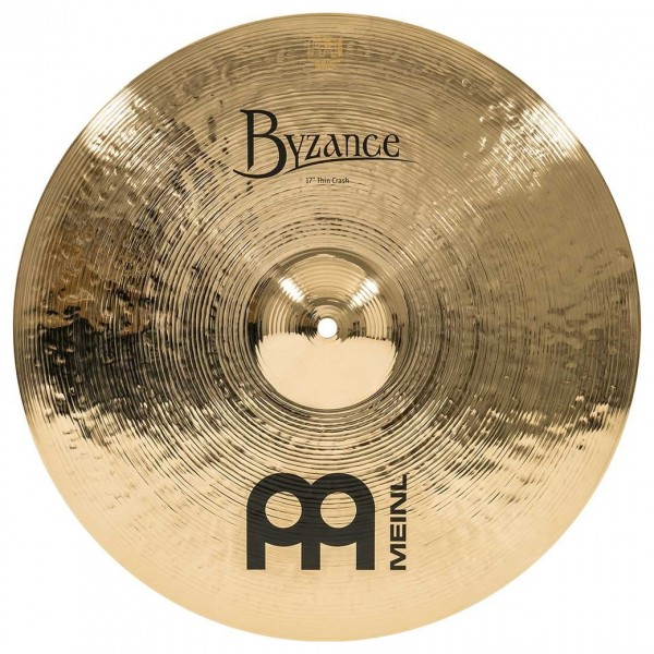 Meinl B17TC-B Byzance 17 inch Brilliant Thin Crash