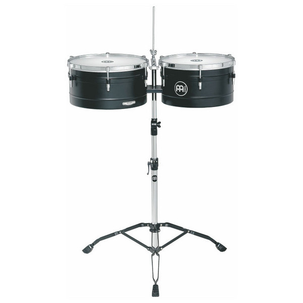 "Meinl 14/15"" Amadito Valdes Artist Series Timbales, Black"
