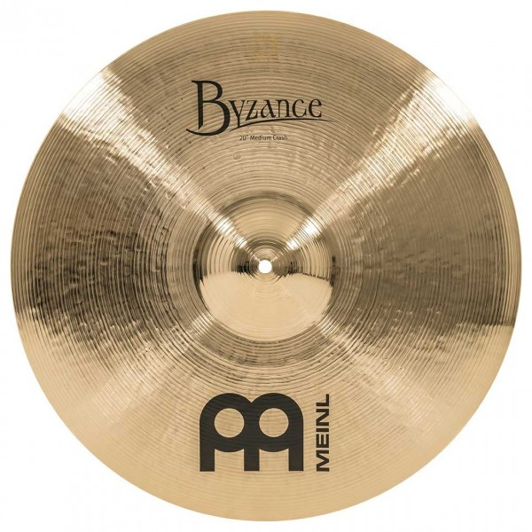 Meinl B20MC-B Byzance 20 inch Brilliant Medium Crash