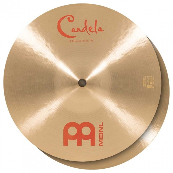 "Meinl 10"" Candela Percussion Hihat - B20 Bronze"