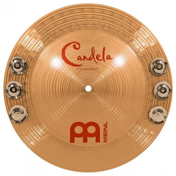 "Meinl 14"" Candela Percussion Jingle Bell - B8 Bronze"