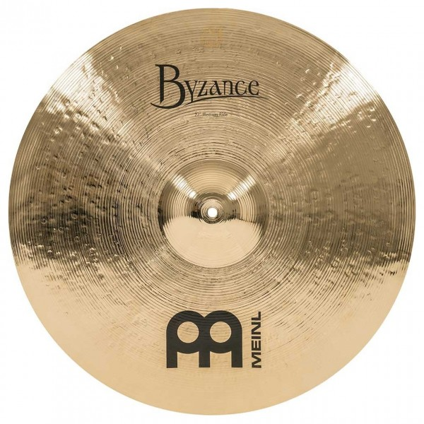 Meinl B22MR-B Byzance 22 inch Brilliant Medium Ride