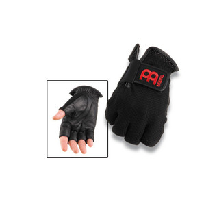 Meinl MDGFL-M Drummer Gloves Finger-less Medium - Black
