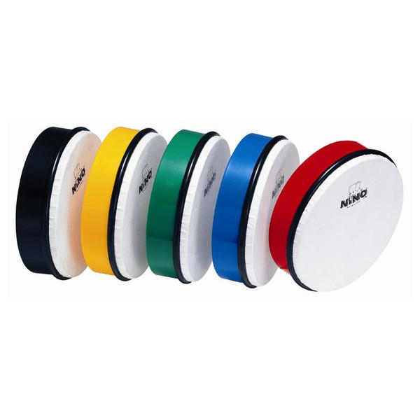 """Meinl NINO4R 6"""" ABS Hand Drum, Red - set"""