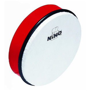 "Meinl NINO5B 10 inch"" ABS Hand Drum, Red"