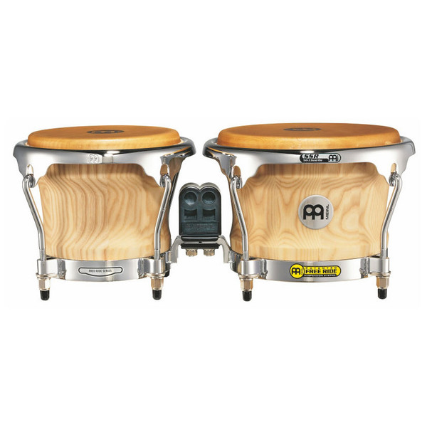 Meinl Free Ride Collection Series Wood Bongo - Natural Finish