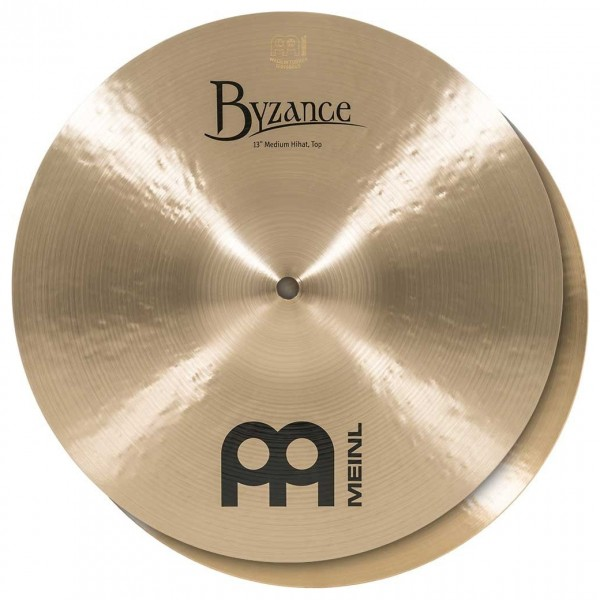 Meinl B13MH Byzance 13 inch Traditional Medium Hi-hats
