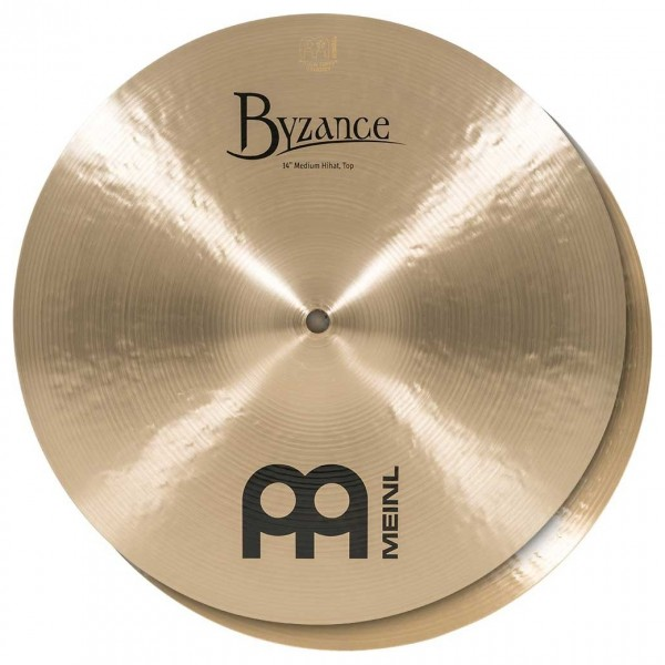 Meinl B14MH Byzance 14 inch Traditional Medium Hi-hats