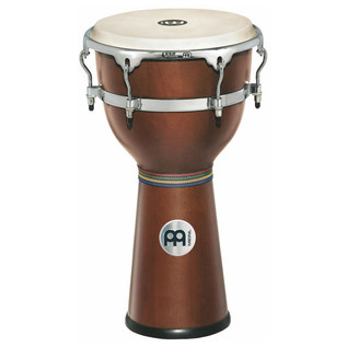 "Meinl 12 3/4"" Floatune Series Wood Djembe - African Brown"