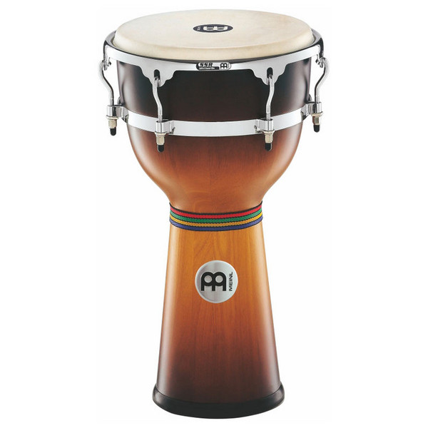 "Meinl 12 3/4"" Floatune Wood Djembe - Gold Amber Sunburst Finish"