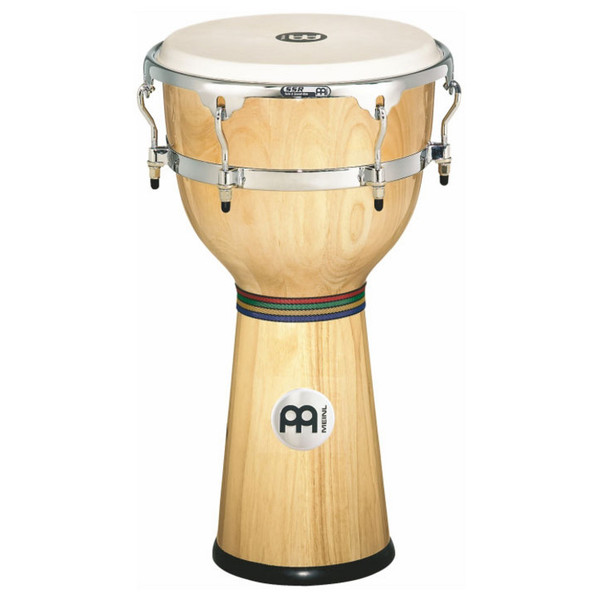 "Meinl 12 3/4"" Floatune Series Wood Djembe - Natural"