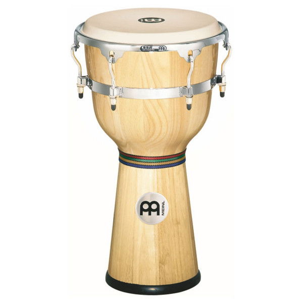 "Meinl 12"" Floatune Series Wood Djembe - Natural finish"