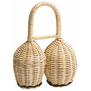Meinl Rattan Double Shaker - Natural