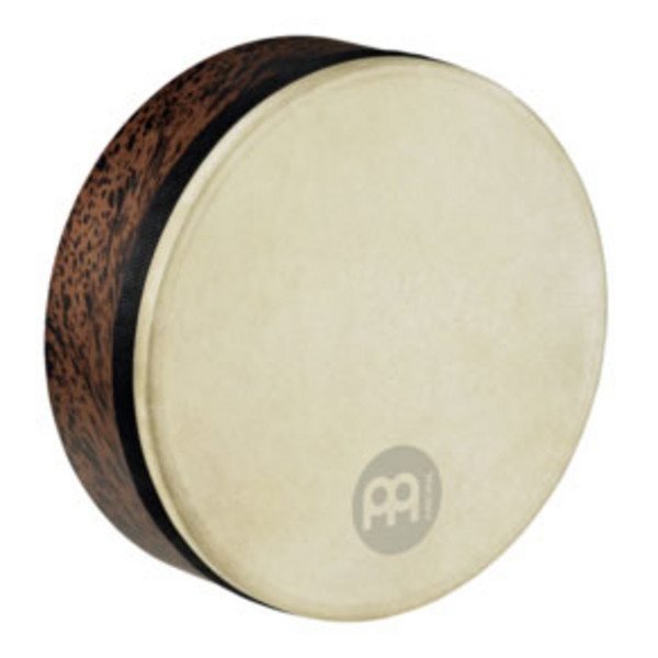 "Meinl Frame Drums - 12"" Goat Skin Deep Shell Tars - Brown Burl"