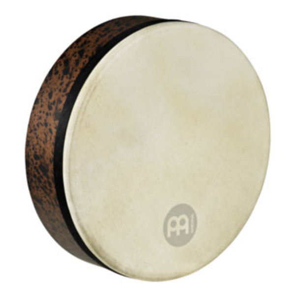 "Meinl Frame Drums - 14"" Goat Skin Deep Shell Tars - Brown Burl"