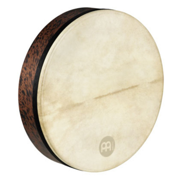 "Meinl Frame Drums - 18"" Goat Skin Deep Shell Tars - Brown Burl"