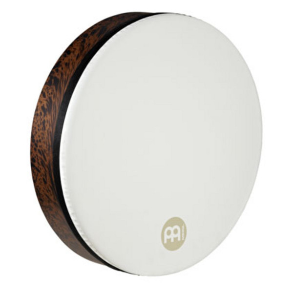 "Meinl Frame Drums - 18"" Synthetic Head Deep Shell Tars - Brown Burl"