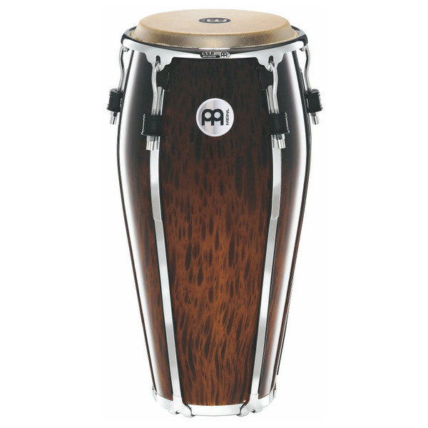 "Meinl 11"" Floatune Series Wood Conga - Brown Burl Finish"