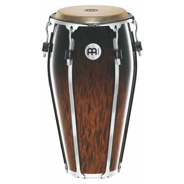 "Meinl 12"" Floatune Series Wood Conga - Brown Burl Finish"