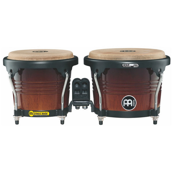 Meinl Free Ride Series Wood Bongo - Coffee Burst