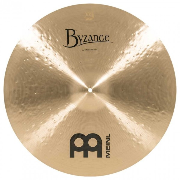 Meinl B22MC Byzance 22 inch Traditional Medium Crash