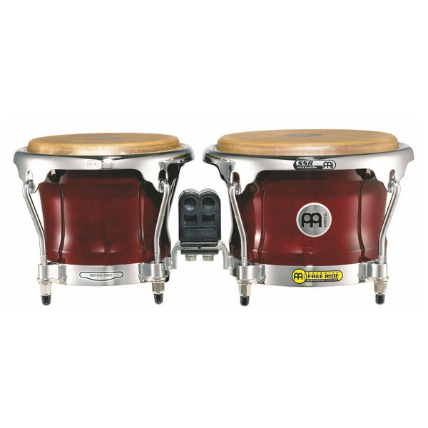 Meinl Free Ride Series Wood Bongo - Cherry Red