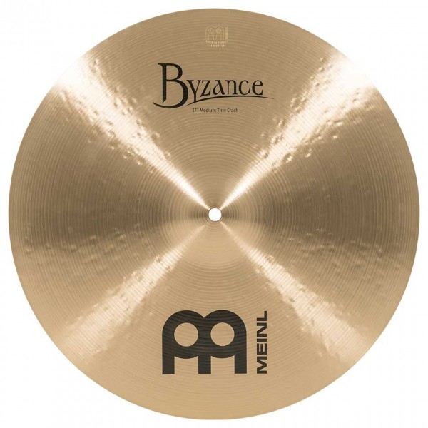 Meinl B17MTC Byzance 17 inch Traditional Medium Thin Crash