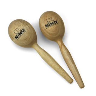Meinl NINO566 Wood Egg Maracas, Medium