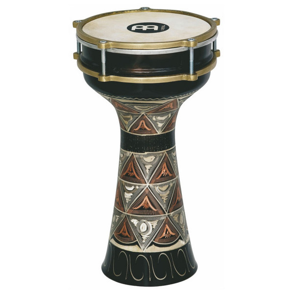 "Meinl 7 1/2"" Hand-engraved Copper Darbuka"