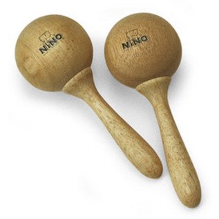 Meinl NINO7 Wood Maracas, Small