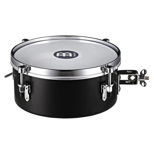 """Meinl MDST10BK 10"""" Drummer Snare Timbale, Black"""