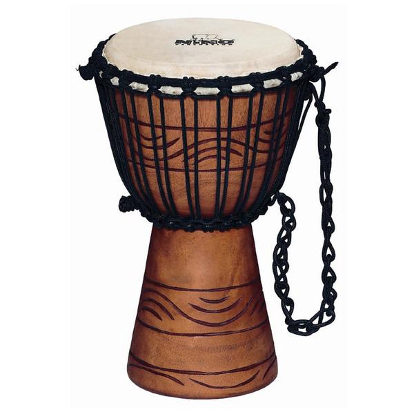 Nino NINO-ADJ2-XXS African Rope Tuned Wood Djembe, Water Rhythm