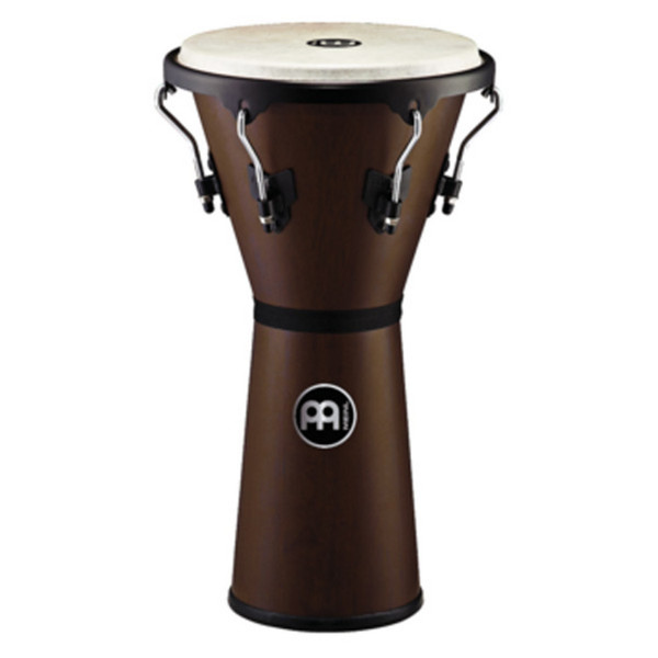 "Meinl HDJ500VWB-M Headliner 12 1/2"" Wood Djembe, Vintage Wine Barrel"