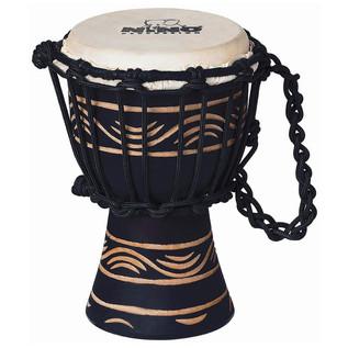 Meinl NINO-ADJ2-S African Rope Tuned Wood Djembe, Moon Rhythm